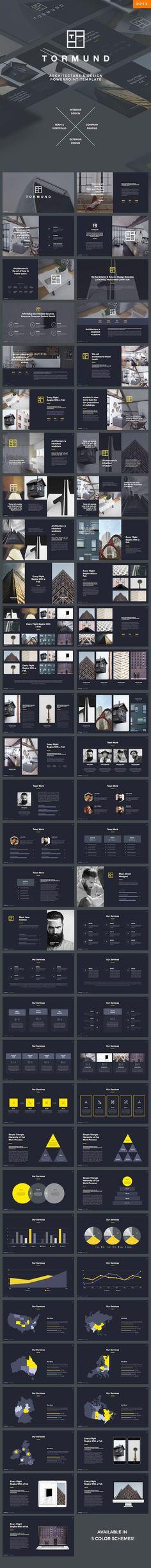 Thormund Design & Portfolio Powerpoint Template — Powerpoint PPTX #architecture #1920x1080 • Download ➝ https://graphicriver.net/item/thormund-design-portfolio-powerpoint-template/19387581?ref=pxcr