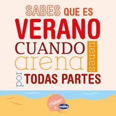 Saber que es verano porque tienes todo lleno de arena: bolso, coche, zapatillas, funda de las gafas... #veranofontastic