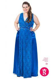 Resultado de imagen para vestidos de festa azul plus size curto