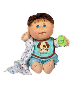 Look at this Dog Jumper Nap Time Baby by Cabbage Patch Kids Toddler Girl, Baby Kids, Baby Boy, Kids Boys, Cabbage Patch Kids Boy, Dog Jumpers, Blonde Hair Blue Eyes, Best Kids Toys, Boy Doll