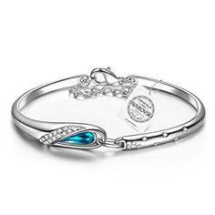 "Pauline & Morgen ""Cinderella"" Bracelet for Women with crystals from Swarovski"