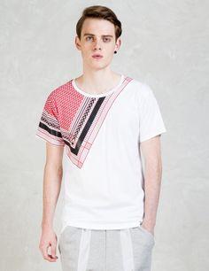 yoshio kubo - Bandana Print S/S T-Shirts Bandana Print, Branding Design, Street Wear, Tees, Sweaters, Cotton, Mens Tops, How To Make, T Shirt