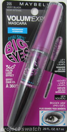 Spotted: Maybelline The Falsies Big Eyes Mascara - Plus Photos, Quick Review