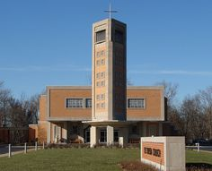 St. Teresa   Vatican II at its Mid-Century Modern finest Belleville, IL