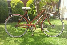 BSA Star rider 1950s retro bicycle college fixie BSA crank Dynohub 3 speed