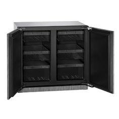 U-Line 3000 Series 3036 - 36 Inch Integrated Solid Door Refrigerator Refinish Kitchen Cabinets, Kitchen Cabinet Doors, 36 Inch Refrigerator, Mini Fridge With Freezer, Solid Doors, Tempered Glass Shelves, Appliance Repair, Fireplace Accessories, Adjustable Shelving