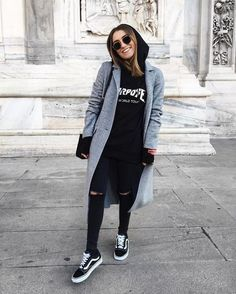 girl, black, and fashion image