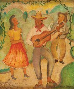 "ANITA MALFATTI (São Paulo, 1889 - 1964) - Série ""Se.."