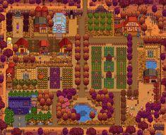 Post with 21740 views. Sidewinder Farm - Gallery Below (for r/StardewValley) Stardew Farms, Stardew Valley Farms, Stardew Valley Layout, Farm Layout, Harvest Moon, Studio Ghibli, Animal Crossing, Game Art, City Photo