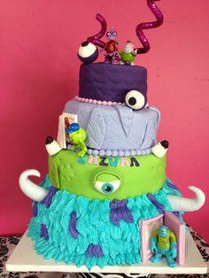 Monster university cake