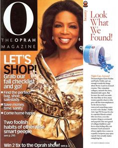 Oprah loves our products! O article about Rodan + Fields. Want to know more about why celebs everywhere are raving about this company and its revolutionary products? Visit my site: www.julieshook.myrandf.com.