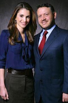 El estilo de la reina Rania de Jordania