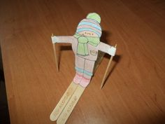 Popsicle Sticks Crafts for Kids - 30+ Creative DIY Art Projects - #ski #upcycling