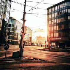 City center...#sunsets #sunset #sunsetlover #winter #mood #love #city #downtown #czech #czechrepublic #architecture #architecturelovers #reflection #cold #from #ostrava #ostravacity #by #janjasiok