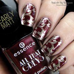 Nail Art by Belegwen: Essence Roaming Red