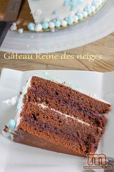 Snow Queen Cake - step by step or so - Macaronette et cie - dessert - Gateau Frozen Birthday, Birthday Cake, Birthday Parties, Queen Cakes, Snow Queen, Beignets, Tiramisu, Banana Bread, Bakery