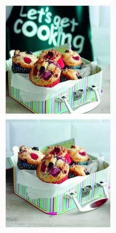 Double Berry Muffins...