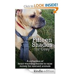 Fifteen Shades for Grey. This book has been put together to help raise money for the amazing animals in a Welsh rescue centre that attempts rehome all the sad little critters that deserve a better life that come through their doors.