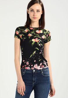 DELILEE - T-shirt z nadrukiem - black