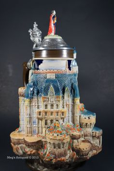 German Beer Stein Falkenstein Castle MINT by megsantiques