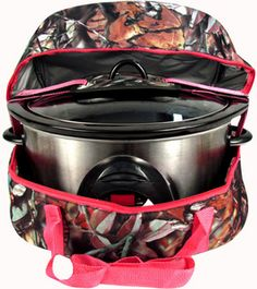 $18.95 BNB Natural Camo™ Insulated Slow Cooker Carrier
