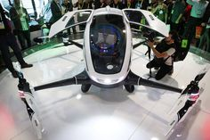 Chinese drone maker Ehang Inc. on Wednesday unveiled what it calls the world's first drone capable of carrying a human passenger.