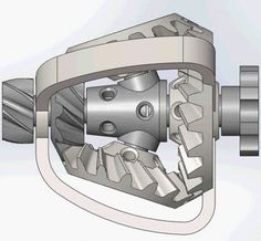 Epicyclic Bevel Gear Reducer - SOLIDWORKS,STL - 3D CAD model - GrabCAD