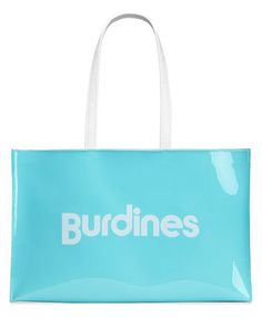 Burdines Large Open Tote with Logo