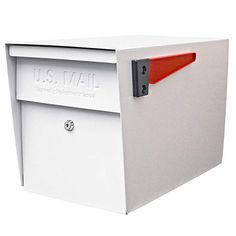 $167 + $90 post Amazon.com: Mail Boss 7107 Curbside Locking Security Mailbox, White: EPOCH DESIGN: Home Improvement