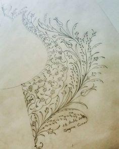 #tasarım #sanat #art #hat #caligraphy #design #illumination #painting #seymacinar #tezhip #minyatür #atölyesi