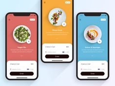 Food Delivery App - Delivery Food - Ideas of Delivery Food - Food Delivery App by Vova Nurenberg Web Design, App Ui Design, Food Design, Interface Design, Site Design, User Interface, Application Design, Mobile Application, Design Thinking
