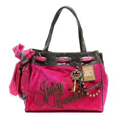 Perfect Juicy Couture Crown Crest Daydreamer Handbag Pink