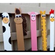 Popsicle stick farm animals