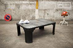 Salontafel Brigor - De industriële tafel is gemaakt van | PIB