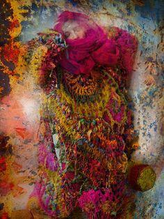 freeform crochet by MizzieMorawez