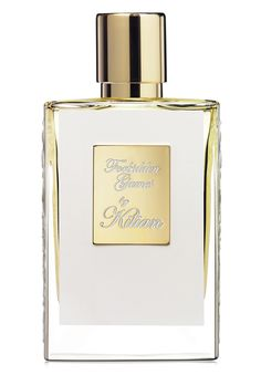 Forbidden Games EdP by By Kilian: Apple, peach, plum, cinnamon, Bulgarian rose, geranium bourbon, jasmine, vanilla, honey, opoponax.