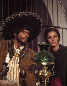 "Giovanna Ralli with Tony Musante in ""The Mercenary,"" 1968"