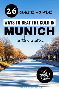 26 Amazing Things to do in Munich in Winter I winter in Munich I things to do in Germany I what to do in Munich I winter activities in Munich I visit Germany I Munich travel I winter in Germany I Munich Germany travel I Munich winter travel tips I Munich activities I places to go in Munich I local's guide to Munich in Winter I where to go in Munich I places to go in Germany I Germany attractions I warm activities in Munich I #Germany #Munich #wintertravel