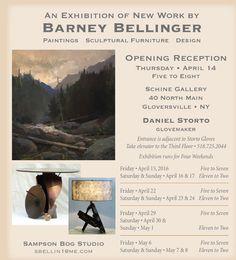 Barney's exhibition in Gloversville NY