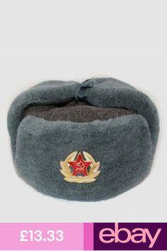 a0856f17 Surplus Army/Russian fur hat Fashion Hats Clothes, Shoes & Accessories