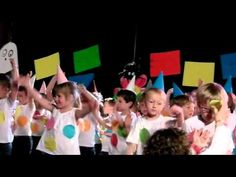 "St Jo en mai 2014 ""La ronde des couleurs"" (Mme Isabelle & Mme nadine - M2) - YouTube Too Cool For School, Isabelle, Kindergarten, Activities, Youtube, Diwali, Concerts, Schoolgirl, Carnival"