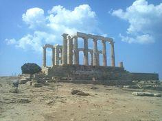 Poseidon Temple, Sounio,Greece