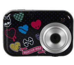 Monster High 2.1 MP Digital Camera by Monster. $57.99. You and those girly ghouls from Monster High can capture every spooky shot with this Digital Camera. This camera features a 1.5-inch preview screen, and you can hook it up to your computer as a webcam; it can also shoot video clips. Snapshots software lets you edit your photos, create albums, and do four fun activities.   The Monster High 2.1MP Digital Camera features:  Includes camera, USB cable, software, manual, and ...