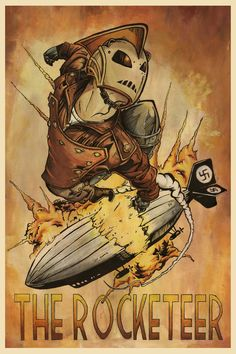 The Rocketeer by Joshua Storms, jss743 on deviantART