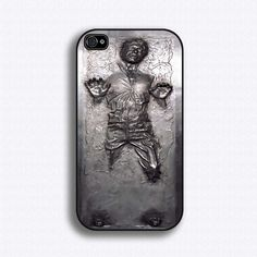 Han Solo in Carbonite iPhone Case