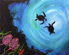 sea turtle wall print - Google Search
