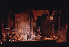 Mahagonny Songspiel. Scenic design by Michael Levine. 1984