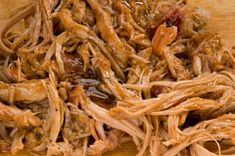 BBQ Pulled Pork (Slow Cooker)  Only 4 Ingredients