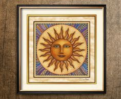 Spreesy is Joining the CommentSold Family! Tangled Sun, Dan Morris, Moon Symbols, Sun Art, Selling On Pinterest, Sun Moon, Carpe Diem, Bold Colors, Art Boards