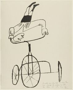 """boy on tricycle"", ben shahn 1947 Art And Illustration, Illustrations Posters, Line Drawing, Painting & Drawing, Ben Shahn, Arte Pop, Line Art, Art History, Design Art"
